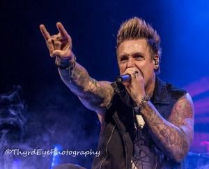 Papa Roach photo by Sean Derrick/Thyrd Eye Photography