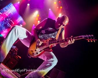 Vic Johnson (Sammy Hagar and the Circle) photo by Sean Derrick/Thyrd Eye Photography