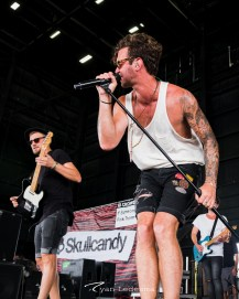 American Authors performing Wednesday in Saint Louis for Vans Warped Tour. Photo by Ryan Ledesma.