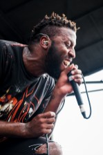 Fire From the Gods performing Wednesday in Saint Louis for Vans Warped Tour. Photo by Ryan Ledesma.