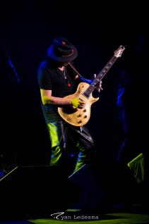 Santana photo by Ryan Ledesma Photography