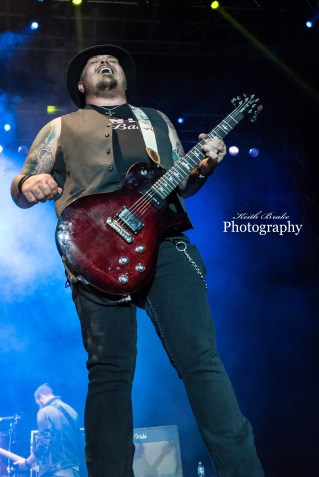 Black Stone Cherry at Moonstock 2017. Photo by Keith Brake Photography.