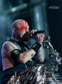 Ivan Moody of Five Finger Death Punch at Moonstock 2017. Photo by Keith Brake Photography.