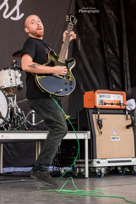 Menzingers at Wayback Pointfest. Photo by Keith Brake Photography.