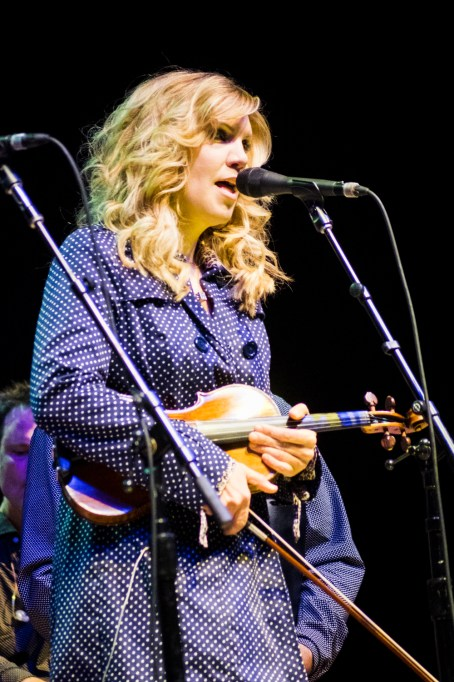 Alison Krauss performs at the Peabody Opera House. Photo by Ryan Ledesma.