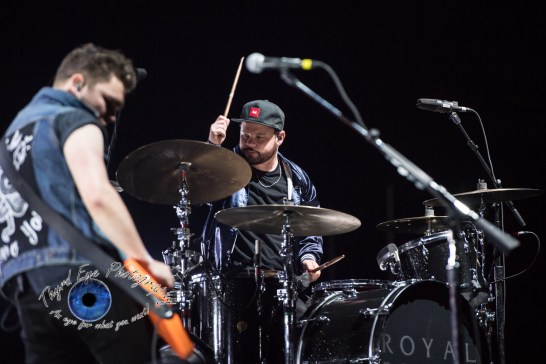 Royal Blood performing at Peabody Opera House in Saint Louis. Photo by Sean Derrick/Thyrd Eye Photography.