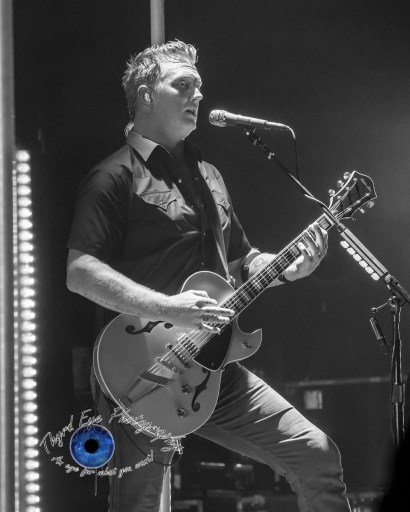 Josh Homme of Queens of the Stone Age performing at Peabody Opera House in Saint Louis. Photo by Sean Derrick/Thyrd Eye Photography.