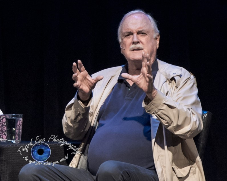 John Cleese at the Peabody Opera House in Saint Louis. Photo by Sean Derrick/Thyrd Eye Photography.