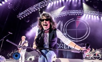Foreigner performing in Saint Louis. Photo by Sean Derrick/Thyrd Eye Photography.