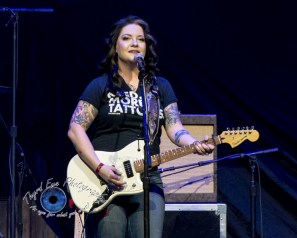 Ashley McBryde performing at Scottrade Center in Saint Louis Friday. Photo by Sean Derrick/Thyrd Eye Photography.