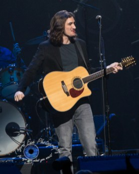 Deacon Frey of the Eagles performing at Scottrade Center in Saint Louis Sunday. Photo by Sean Derrick/Thyrd Eye Photography.