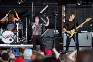 The Struts performing at Pointfest in Saint Louis Saturday. Photo by Sean Derrick/Thyrd Eye Photography.