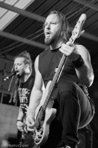 Nonpoint performing at the Memorial Day Rock Out in Clarksville, TN. Photo by JP Productions.