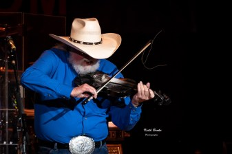 The Charlie Daniels Band perform at the KSHE 95 Pig Roast Saturday. Photo by Keith Brake Photography.