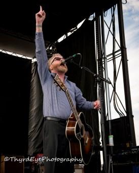 Flogging Molly performing in Saint Louis. Photo by Sean Derrick/Thyrd Eye Photography.