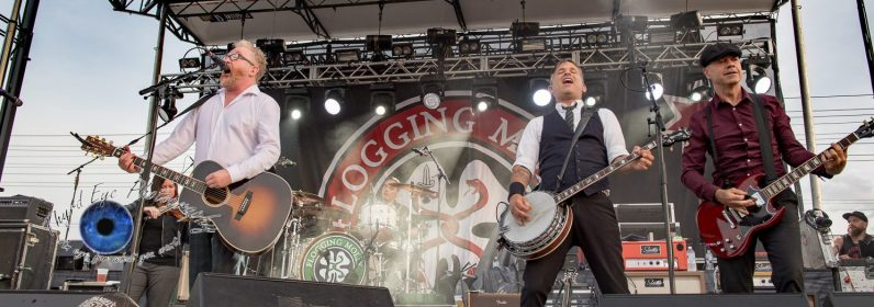Flogging Molly performing Tuesday at Pops. Photo by Sean Derrick/Thyrd Eye Photography.