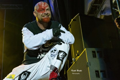Five Finger Death Punch performing at Rockfest in Kansas City. Photo by Keith Brake Photography.