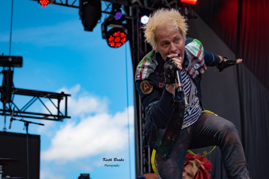 Powerman 5000 performing at Rockfest in Kansas City. Photo by Keith Brake Photography.