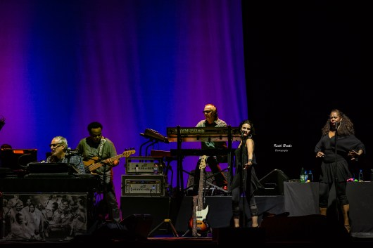 Steely Dan performing at Hollywood Casino Amphitheatre in Saint Louis Wednesday. Photo by Keith Brake Photography.