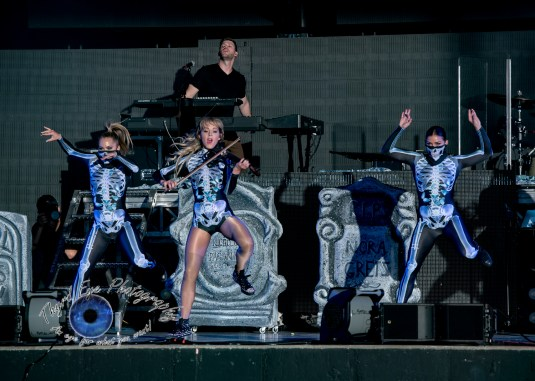 Lindsey Stirling performing in Saint Louis Saturday. Photo by Sean Derrick/Thyrd Eye Photography.