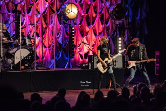 The Pretenders performing Wednesday at Stifel Theatre in Saint Louis. Photo by Keith Brake Photography.