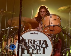 Greta Van Fleet performing at The Pageant in Saint Louis. Photo by Sean Derrick/Thyrd Eye Photography.
