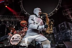 Here Come The Mummies performing at Hollywood Casino Amphitheatre in Saint Louis Saturday. Photo by Keith Brake Photography.
