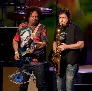 Steve Lukather and Warren Ham performing with Ringo Starr and his All-Starr Band performing at the Fabulous Fox Theatre in Saint Louis Friday. Photo by Sean Derrick/Thyrd Eye Photography.