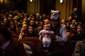 Fans enjoying Alice Cooper performing Saturday night at Stifel Theatre in Saint Louis. Photo by Keith Brake Photography.