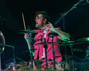 Arejay Hale of Halestorm performing at Stifel Theatre in Saint Louis Thursday night. Photo by Sean Derrick/Thyrd Eye Photography.