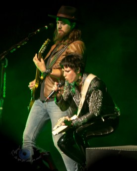 Halestorm performing at Stifel Theatre in Saint Louis Thursday night. Photo by Sean Derrick/Thyrd Eye Photography.