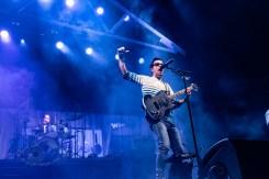 Weezer performing at Enterprise Center in Saint Louis Sunday. Photo by Sean Derrick/Thyrd Eye Photography.