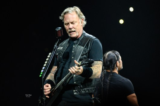 Metallica at the KFC YUM! Center, Louisville, KY.