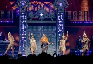 Cher performing at Enterprise Center in Saint Louis Friday, May 10. Photo by Sean Derrick/Thyrd Eye Photography.