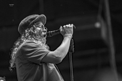 Allen Stone at the Hollywood Casino Amphitheatre.. Photo by Keith Brake.