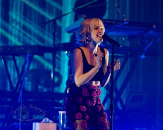 Carly Rae Jepsen performing at The Pageant in Saint Louis Saturday. Photo by Sean Derrick/Thyrd Eye Photography.