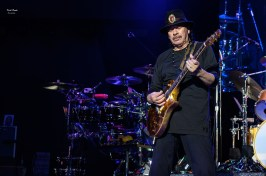 Carlos Santana at the Hollywood Amphitheatre by Keith Brake.