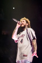 Post Malone at Enterprise Center. Photo by Ryan Ledesma.