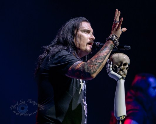 James LaBrie during Dream Theater's performance Wednesday at Stifel Theater in Saint Louis. Photo by Sean Derrick/Thyrd Eye Photography.