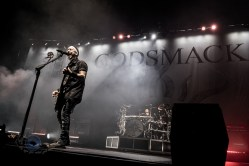 Godsmack performing in Saint Charles, MO. Photo by Sean Derrick/Thyrd Eye Photography.