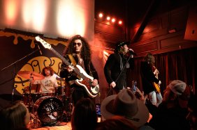 Dirty Honey performing at The Old Rock House in Saint Louis. Photo by Ryan Ledesma.