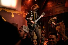 The Amazons performing at The Old Rock House in Saint Louis. Photo by Ryan Ledesma.