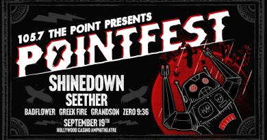 Pointfest Returns to Hollywood Casino Amphitheatre September 19