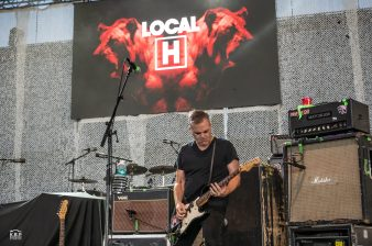 Local H performing at St. Louis Music Park on Saturday. Photo by Keith Brake/ KBP Studios.