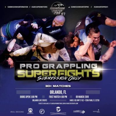 Submission Hunter Pro 41 Grappling Card (Mar  9, 2019