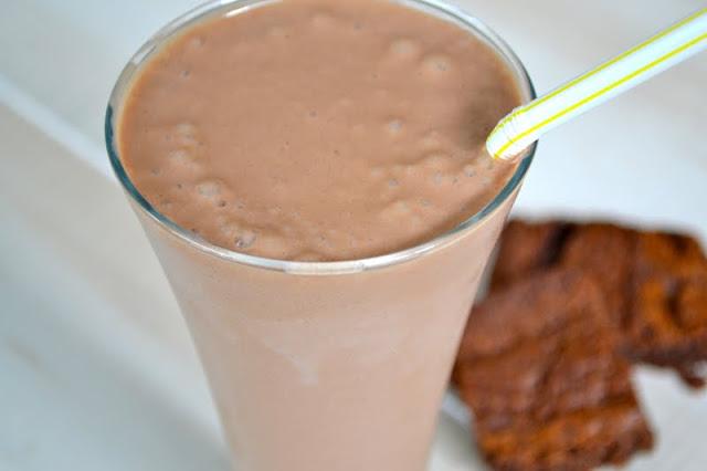 nutella banana smoothie