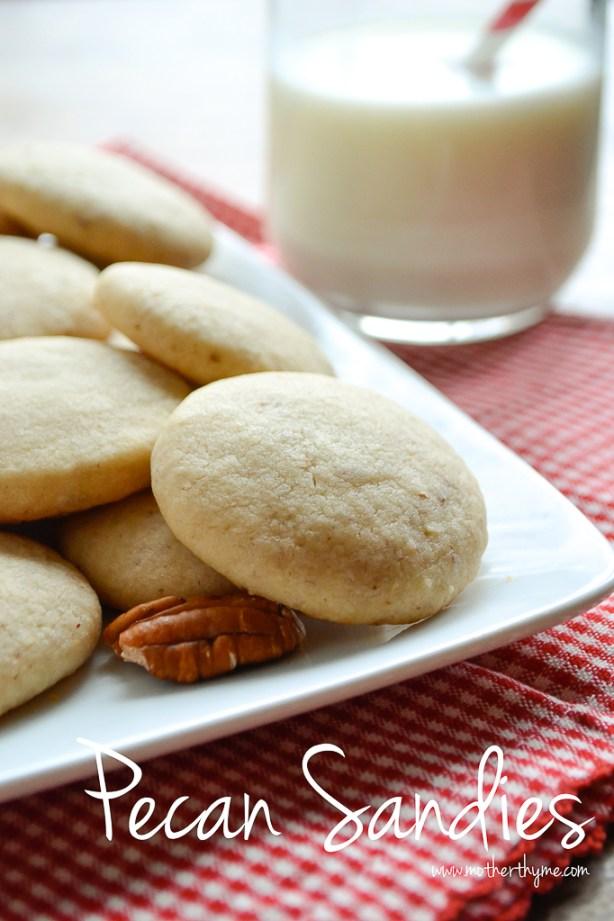 Pecan Sandies | www.motherthyme.com
