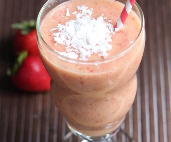 Strawberry, Mango and Guava Smoothie