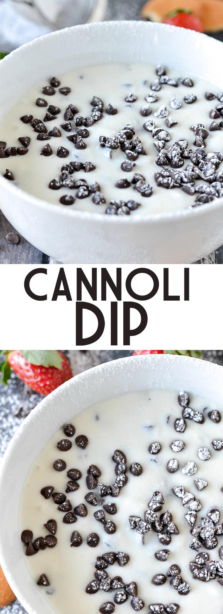 Cannoli Dip | www.motherthyme.com