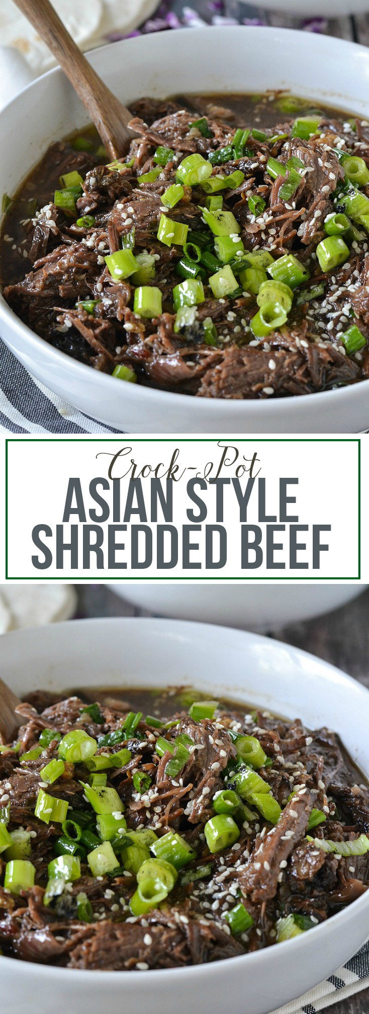 Crock Pot® Slow Cooker Asian Style Shredded Beef